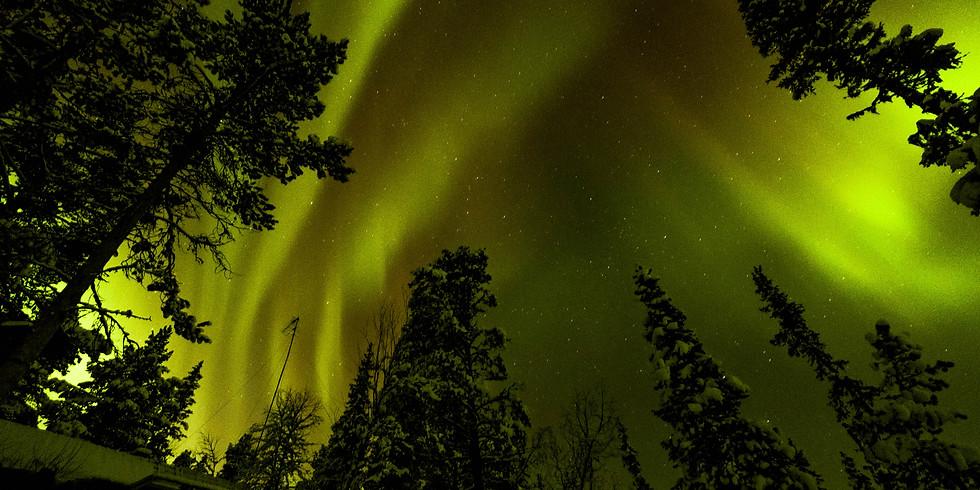 Kurs Nordlichter fotografieren Kiruna / Jukkasjärvi (2)