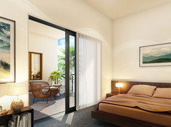 Bedroom Private Balcony