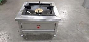 single burner bulk with 24inches cast ir