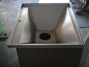 WASTE CRUSH UNIT TOP SINK.JPG