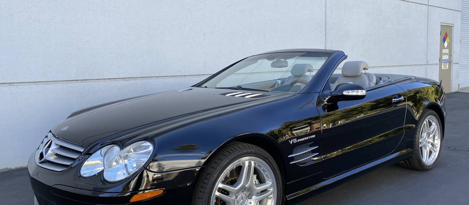 On the Rise: 2003 SL55 w/16k miles