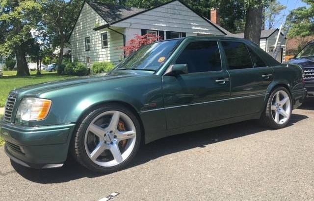 Green Means Go (Fast): 1994 Mercedes-Benz E500 RENNtech