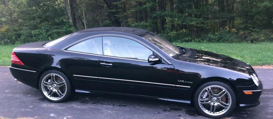 Criminally Underutilized: 6,500-mile 2005 CL65 AMG