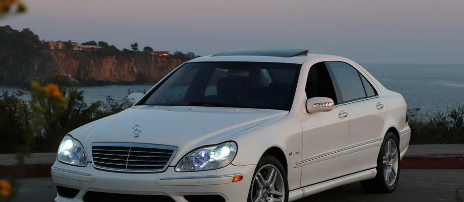 White Whale: 2004 Mercedes-Benz S55 AMG in Alabaster White