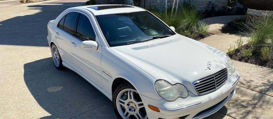 Condition Over Mileage: 219k-mile 2002 Mercedes-Benz C32 AMG