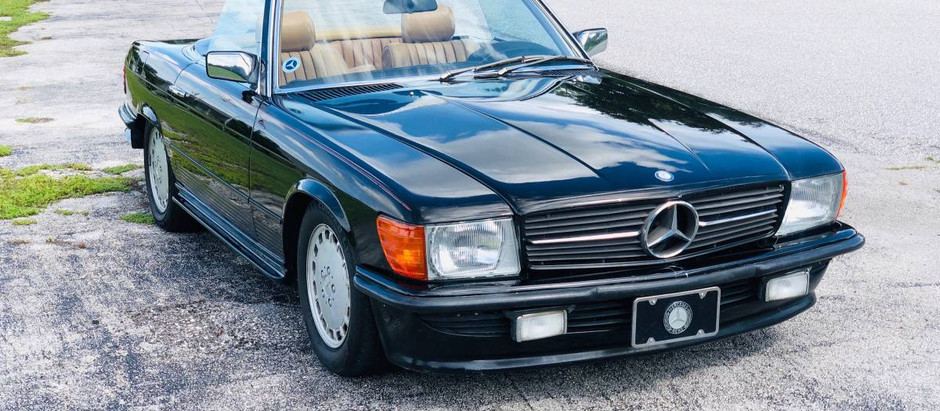 Lean and Mean: 1984 280sl Euro w/64k Miles