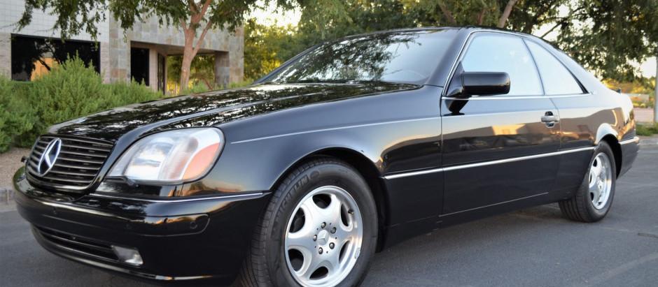 Crazy Rare Coupe: 1999 CL600 w/35k Miles