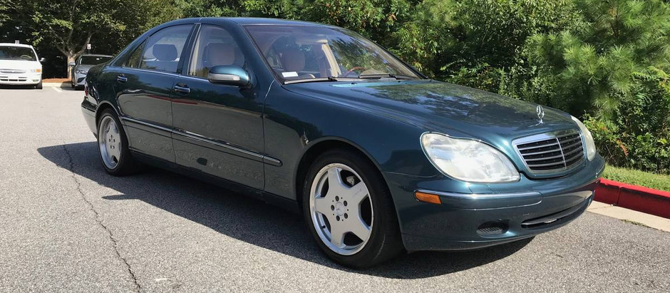 Green Grosser: 2001 S430 with 49k Miles