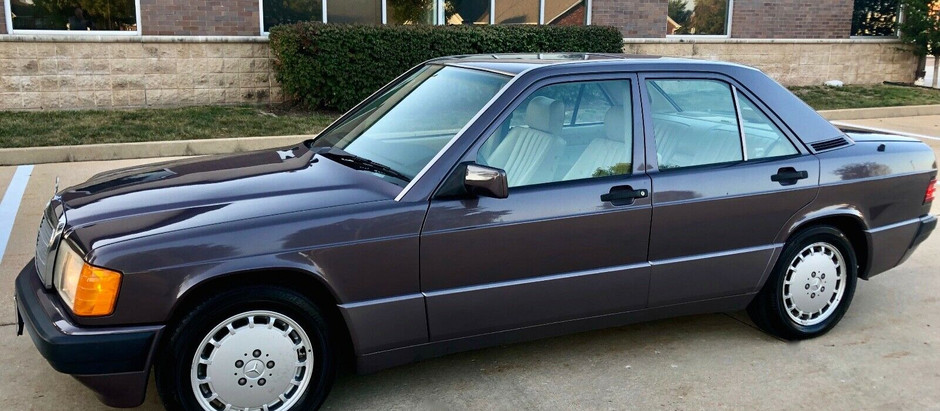 Bornite Baby Benz: One-Family Owned 1993 190E with 65,000 Miles