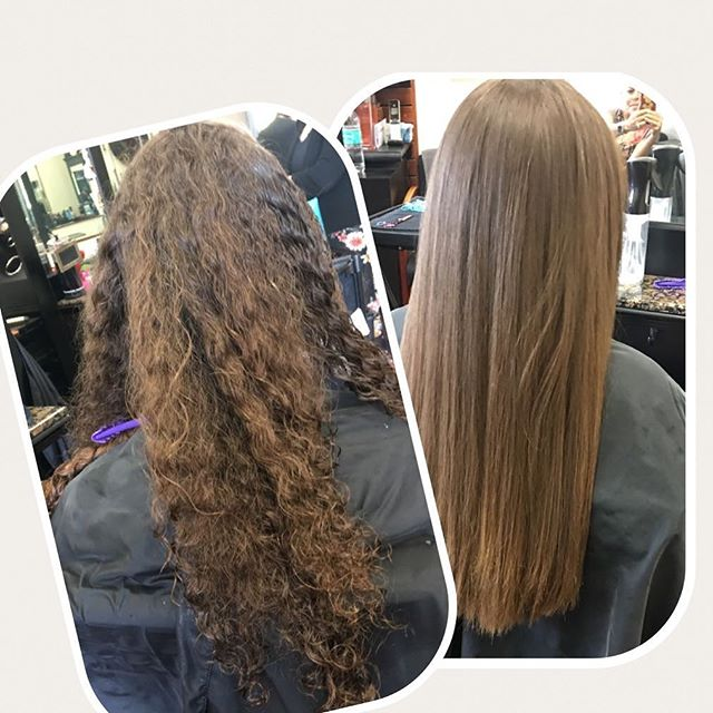 Keratin #keratin #gkhair #gk #straighthair #hair #haircut #splitendzfl #coralsprings #coralspringsfl