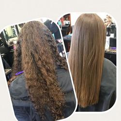 Keratin #keratin #gkhair #gk #straighthair #hair #haircut #splitendzfl #coralsprings #coralspringsfl