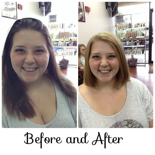 #Haircut #haircolor #blonde #transformation #shorthair #coralspringssalon #splitendz #keune #highlif