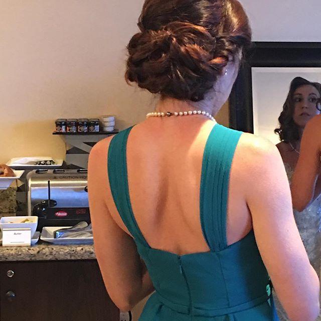 Bridesmaid #weddingstyle #hair #hairstyle #bridesmaid #splitendzfl #coralspringshairstylist #coralsp
