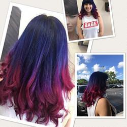 #pravanablue #pravanapurple #pravanavivids #pravanahair #purple #purplehair #bluehair #blue #pink #p