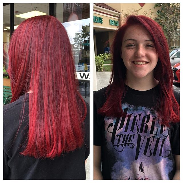 New red for Kenzie