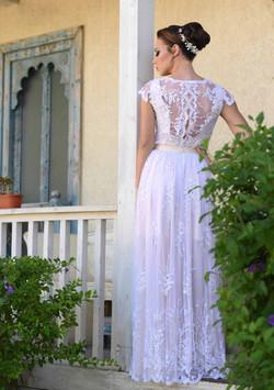שמלת כלה בסגנון וינטאג