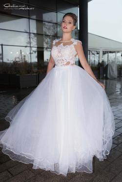 שמלת כלה מרשמה חצאית טולים
