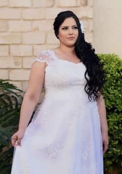 שמלת כלה מתאימה למידה גדולה