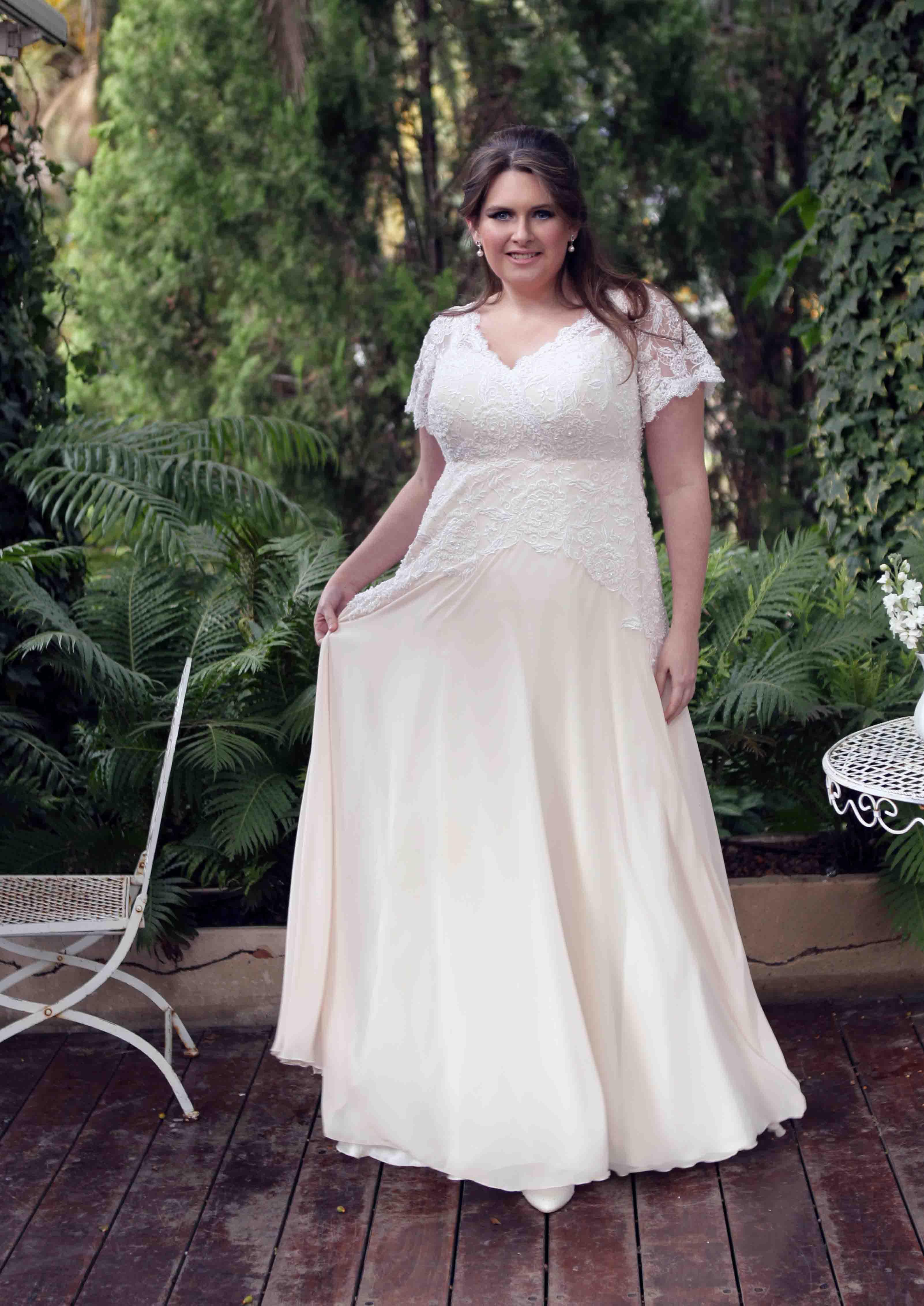 שמלת כלה בסיגנון וינטאג