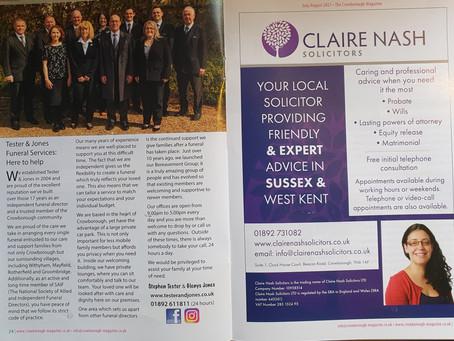 The Crowborough Magazine
