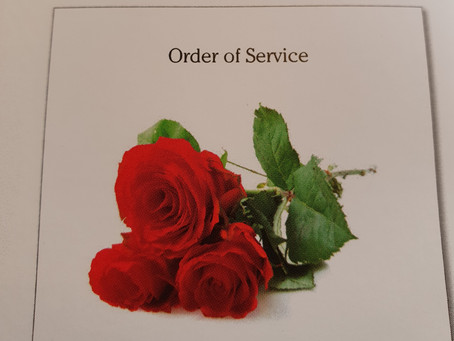 More than just an order of service