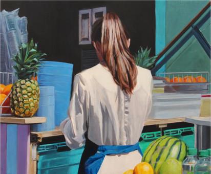 La fille aux fruits