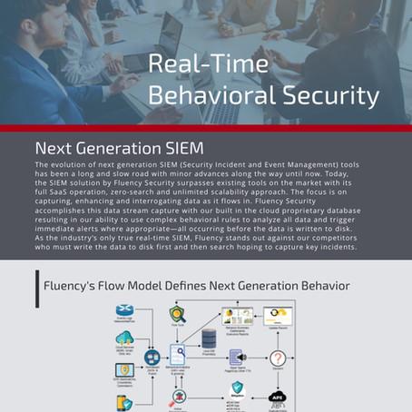 Download: Real-Time Security - Fluency's Flow Model Defines Next Generation Behavior