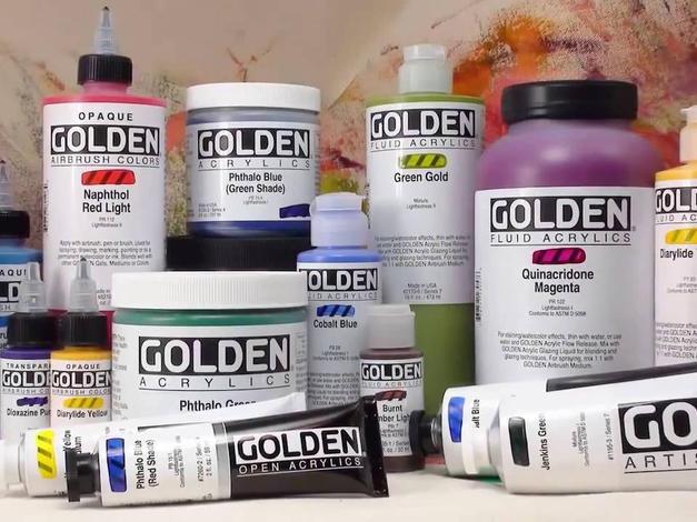 Golden Acrylics