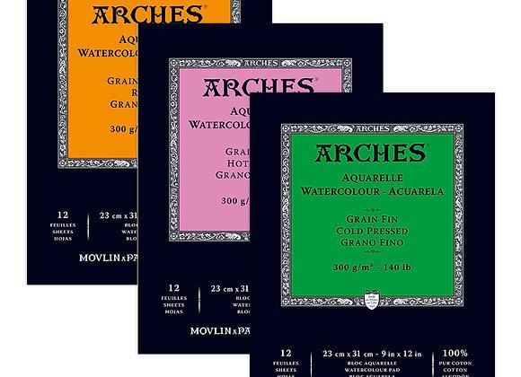 """Arches C/P 9""""x12"""" pad"""