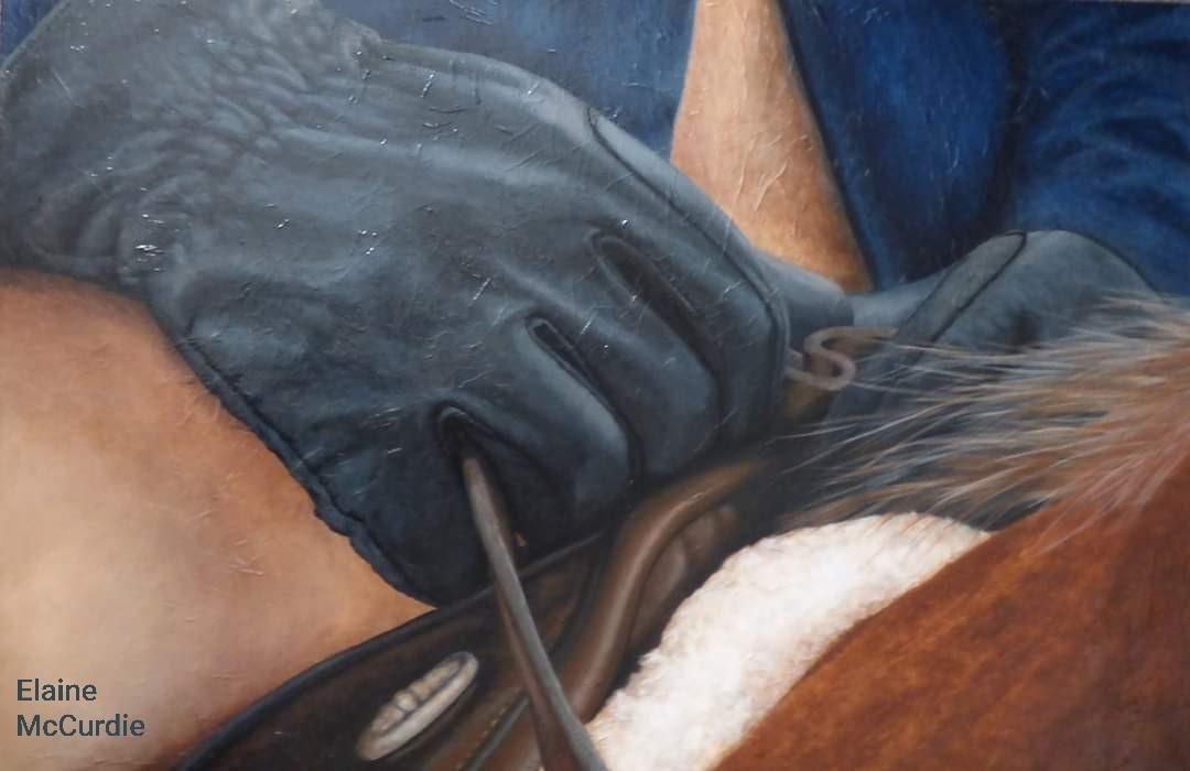 'Hands on Reins'