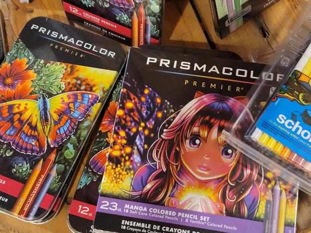 Prismacolour sets