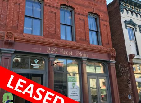 LEASED: 229 West Main Street