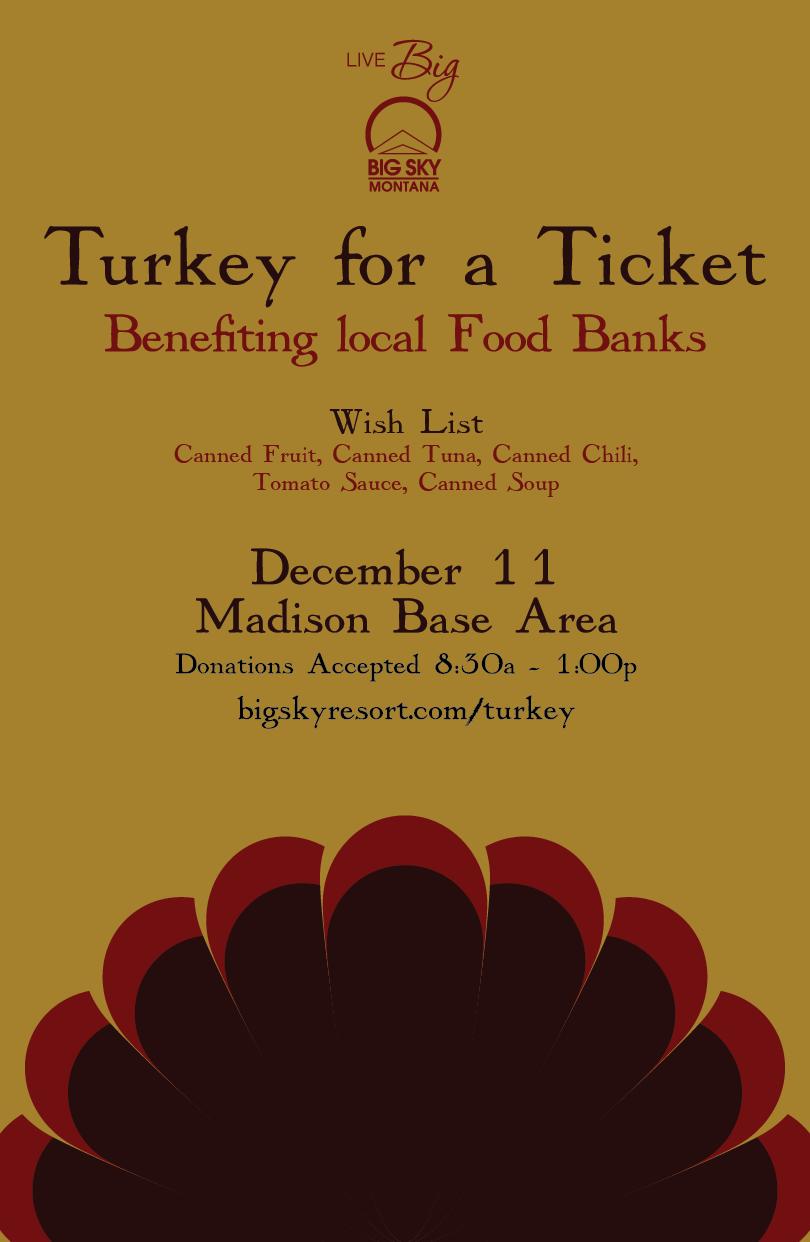 Turkey for a Ticket