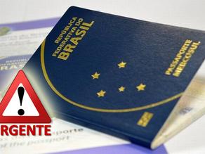 Saiba como emitir um passaporte de emergência