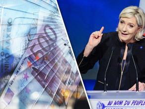 Resultado do 1° turno nas eleições da França dá força para o Euro. Entenda.