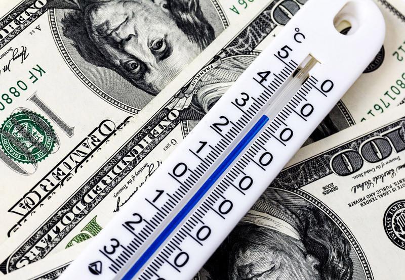 termômetro dolar