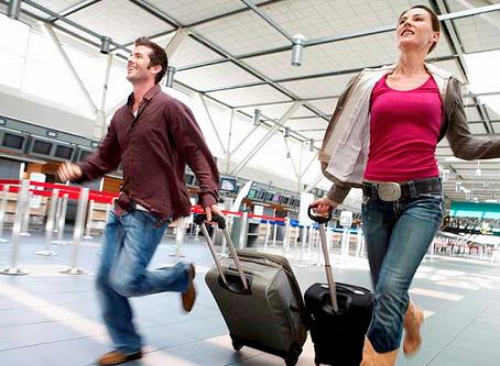 Alerta: não compre bilhete aéreo com conexões curtas!