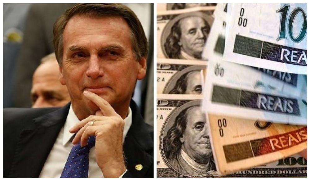 Bolsonaro - dolar - real