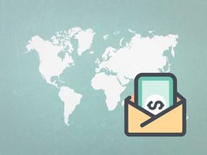 Como enviar grandes quantias de dinheiro ao exterior?