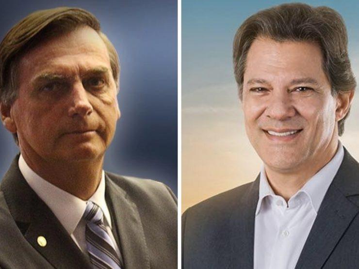 Bolsonaro ou Haddad. Quem vence?