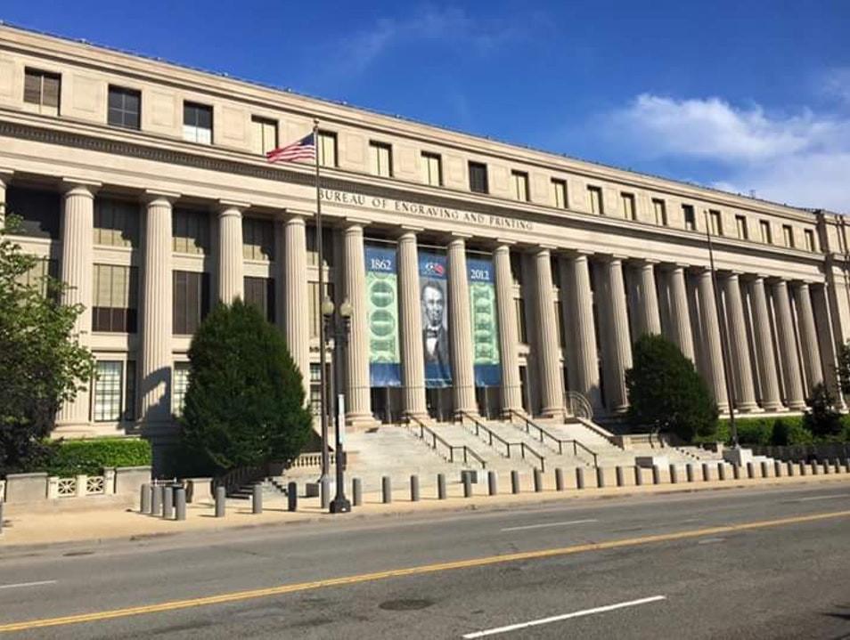 Bureau of Engraving and Printing - Washigton, DC