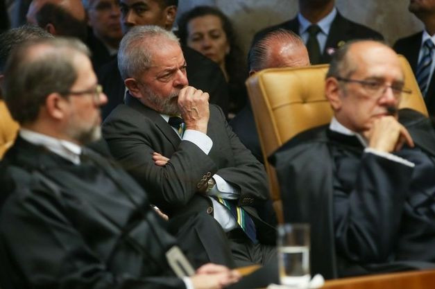 Lula no STF