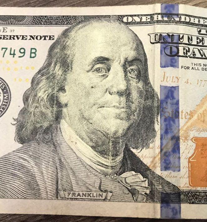Dólar com desgaste