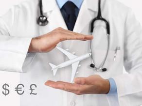 Quanto custa um atendimento médico no exterior?