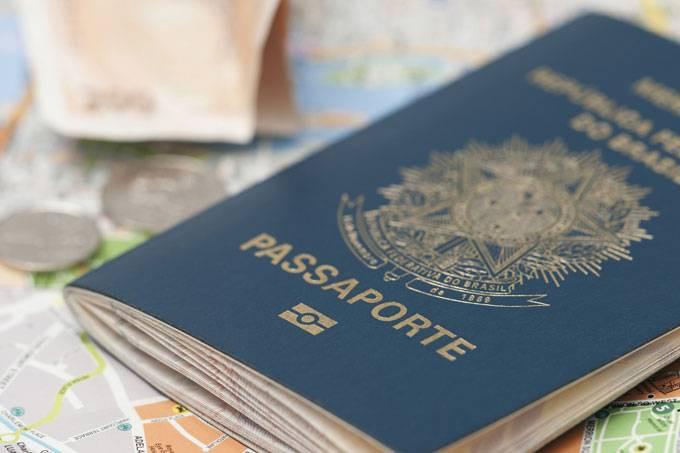 Emissão de passaporte brasileiro