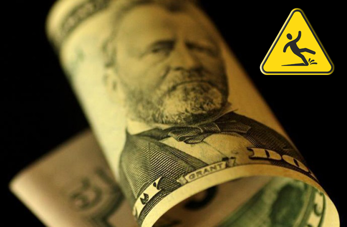 dolar cuidado cautela