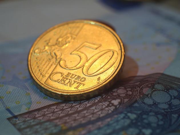 moeda de 50 centavos de euro