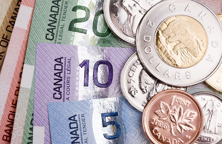 dolar canadense - cedulas e moedas