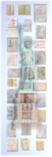 carimbos passaporte Gustavo Candiota - E