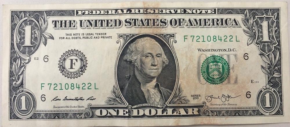 Dólar mofado